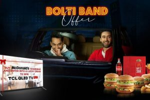 TCL and McDonald's join hands for Bolti Band Offer allowing people to win QLED TVs