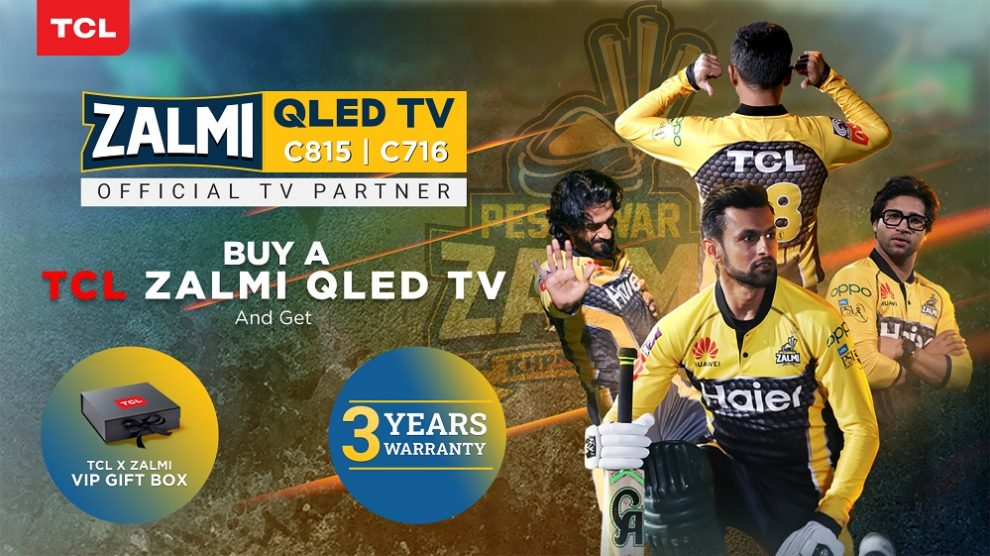 TCL Launches QLED C815 and C716 as Zalmi TV ahead of HBL PSL 6