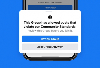 Facebook announces changes to keep Groups safe