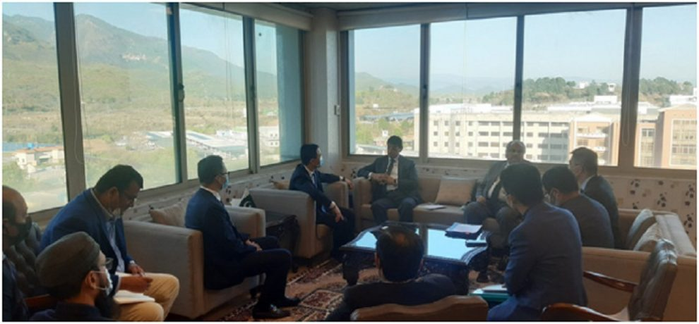 Huawei Delegation lauded the efforts of the MoIT Regarding digitalization