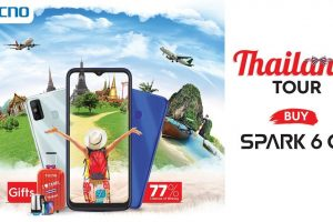 A Thailand Tour awaits you on every Spark 6 Go purchase by TECNO!