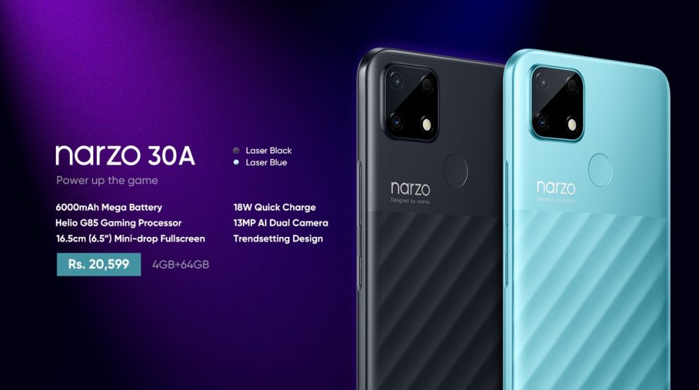 realme launches the gaming beast Narzo 30A
