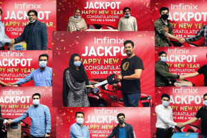 Infinix announces the winners of most fan followed Infinix Jackpot campaign