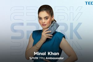 Youth icon Minal Khan announced ambassador for the TECNO's new Gaming King, Spark 7 Pro