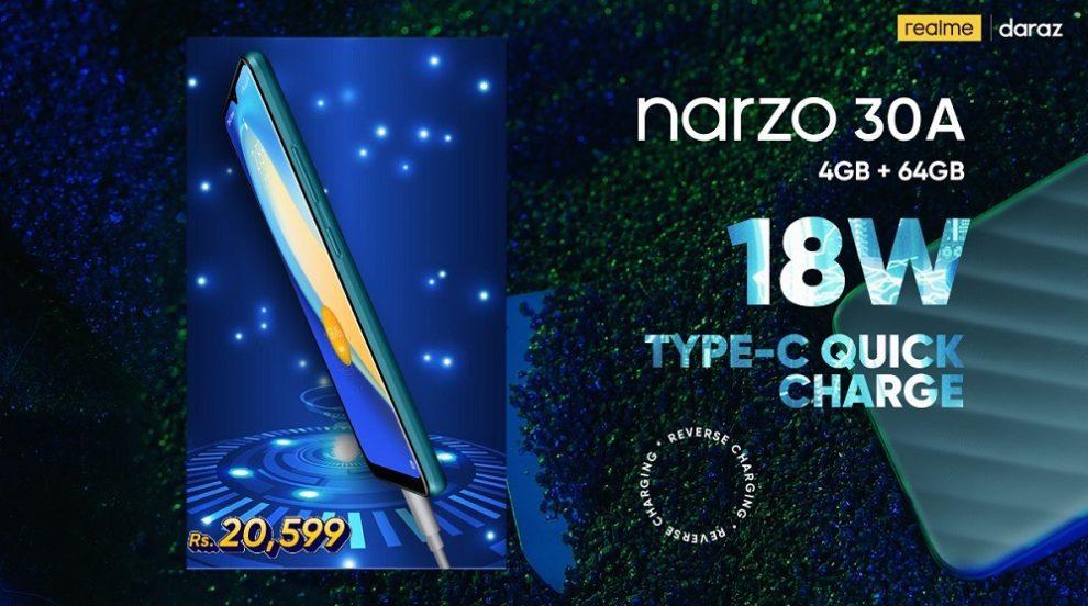 realme Narzo 30A comes as a budget-friendly gaming phone