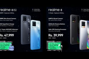 realme 8 Series Arrives in Pakistan with a Spectacular 108MP Ultra Quad Camera & Smart AIoT Products