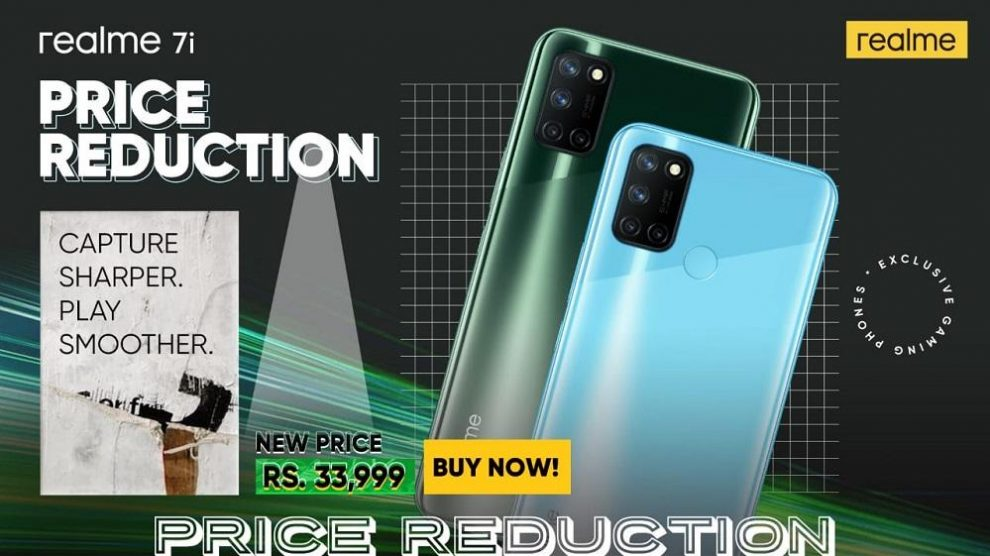 The Performance King, realme 7i with 64 MP AI Quad Camera is now available for only PKR 33,999